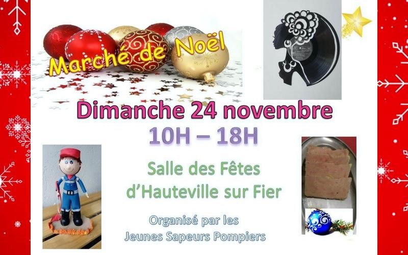 Nansca présent dimanche 24 novembre au Marché de Noël de Hauteville-sur-Fier